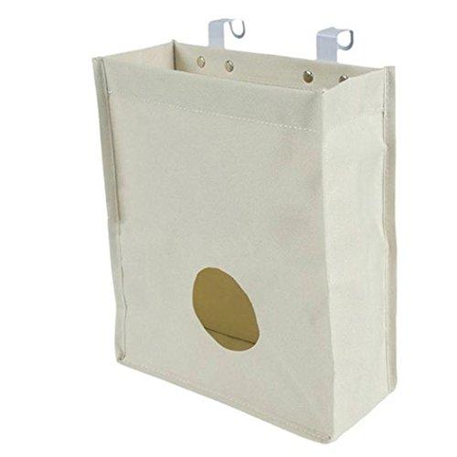 Kitchen hanging bag,IEason Clearance Sale! Kitchen Cupboard Garbage Hanging Storage Bag Home Bathroom Holder Organizer (White) - Kinder Kitchen Cupboard