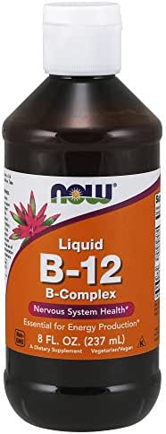 Now Supplements, Vitamin B-12 Complex Liquid, 8-Ounce