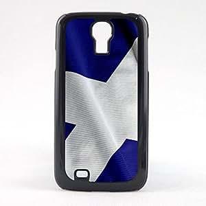 Case Fun Case Fun Flag of Scotland Snap-on Hard Back Case Cover for Samsun Galaxy S4 Mini (I9190)