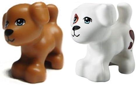 Lego Minifigure Animal Land Dog Puppy Brown Dash Friends