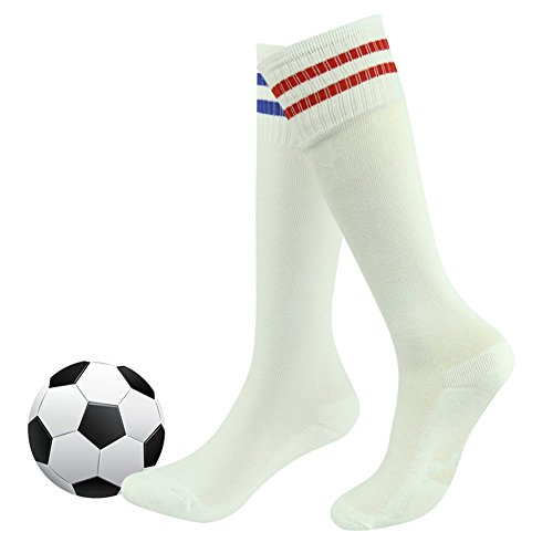Baseball Socks Youth,Fasoar Knee High Sports Athletic Long Tube Socks or Basketball,Soccer,Football 2 Pairs