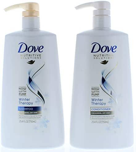 Shampoo & Conditioner: Dove Nutritive Solutions Winter Therapy