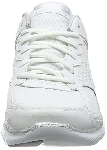 0 nbsp;Good Skechers Sneaker 2 EU Flex Silver White 37 Timing Appeal Damen Weiß wnqqpaH
