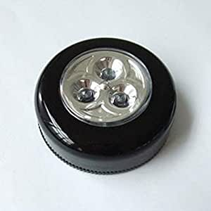 Color al azar FamilyMall 3-LED brillante luz de emergencia empuje Mini Auraglow a casa uso al aire libre