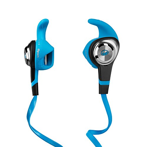 Monster iSport Strive In-Ear Headphones with Control Talk, Blue