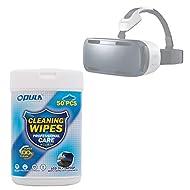 50x Lingettes nettoyantes pour écran de Samsung Gear VR SM-R320 et ZEISS VR ONE Casque de réalité virtuelle