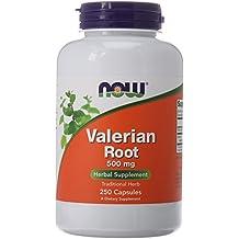 NOW Valerian Root 500 mg,250 Capsules