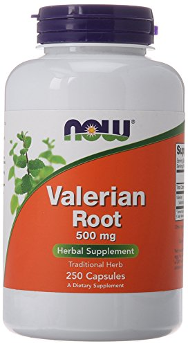 NOW Valerian Root 500 Capsules product image