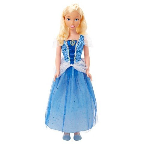 Disney Princess Cinderella Fairytale Friends My Size Doll, 38 inches by DP