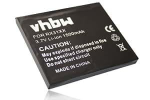 BATERÍA LI-ION 1500mAh compatible con HP IPAQ RX31xx / HX2xxx-Serie