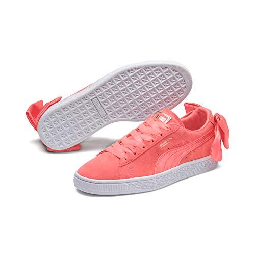 Wn's Pink Scarpe Basse Ginnastica Suede shell Donna shell Pink Rosa Da Bow Puma OHaUvW