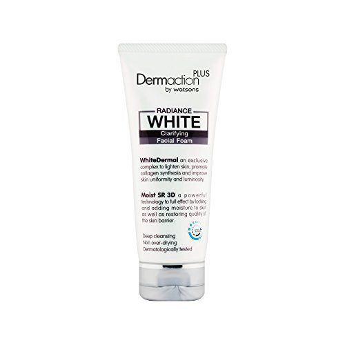 Dermaction Plus by Watsons Radiance White Clarifying Facial Foam 100 ml.(W)