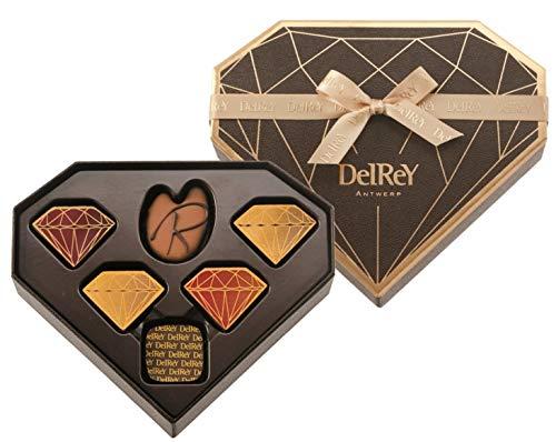 デルレイ Delrey チョコレート ダイヤモンドBOX バレンタイン 6個入り