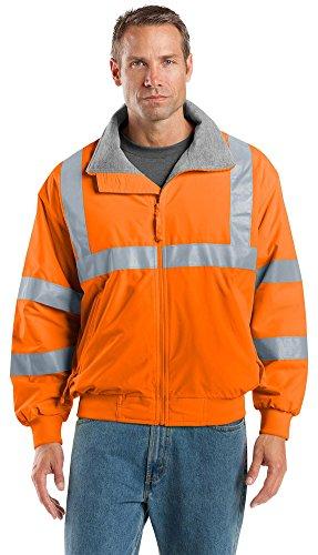 Port Authority Enhanced Visibility Challenger Jacket, Safety Orange/ Reflective, ()