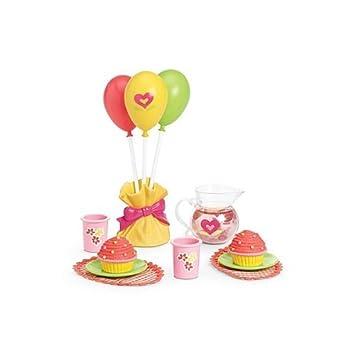 237ac29ec American Girl Bitty Twin Birthday Party Set: Amazon.co.uk: Toys & Games