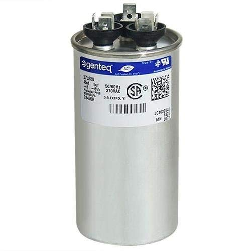 HC98JA046 - 45 + 5 uf MFD 370 Volt VAC - Bryant Round Dual Run Capacitor Upgrade