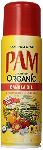 Non Stick Cooking Sprays (Pam Organic Canola Oil No-Stick Cooking Spray - 5)