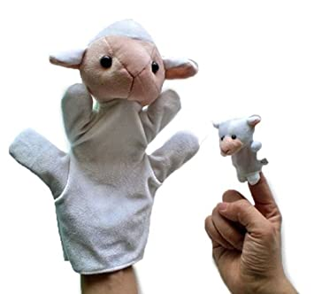 Amazon com : On Sale~! 50% OFF, Sheep Style Finger Puppets +