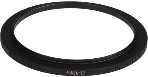 6 Pack Sensei PRO 72mm Lens to 82mm Filter Brass Step-Up Ring