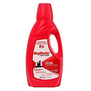 Rug Doctor Portable Machine and Upholstery Cleaner, Carpeting Cleaning Solution Made to Spot Clean Carpets, Rugs, and Upholstery, Great for Home and Office