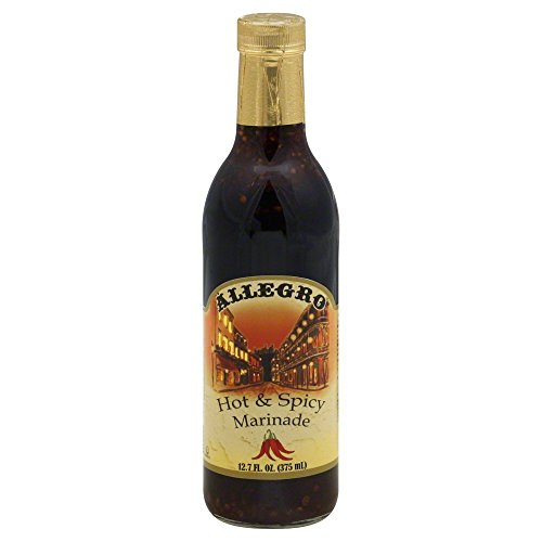 ALLEGRO Marinade and Seasoning, Hot & Spicy 12.7 Oz (Pack of 1)