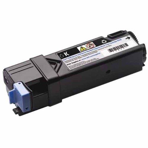 Toner Inkjet Printer Dell (Dell Computer 2FV35 Black Toner Cartridge 2150cdn/2150cn/2155cdn/2155cn Color Laser Printers)
