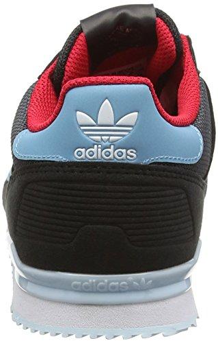 adidas Zx 700 J, Zapatillas de Deporte para Niños Negro (Neguti / Azuvap / Ftwbla)