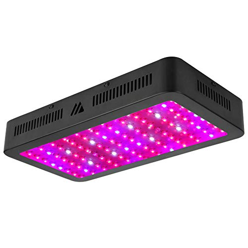 MORSEN 1500W LED Grow Light Full Spectrum Grow Lamp for Indoor Hydroponics Greenhouse Plants Veg and Bloom (150pcs 10W LEDs) ()
