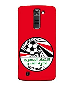 ColorKing Football Egypt 12 Red shell case cover for LG K10