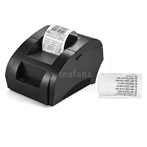 Mini 58mm USB Thermal Dot Receipt Printer POS Cash Drawer Retail Printing K2B1