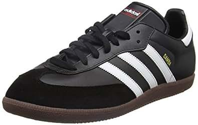 Adidas Samba Zapatillas de Deporte, Hombre, Negro/Blanco, 36 EU