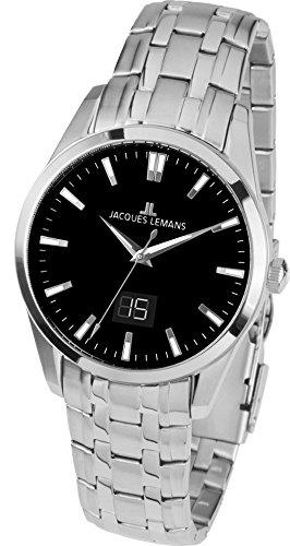 Jacques Lemans Liverpool - Reloj de pulsera analógico para mujer cuarzo acero inoxidable 1 - 1828d: Amazon.es: Relojes
