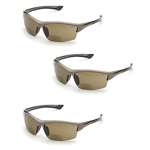 Elvex WELRX350BR15 RX-350BR-1.5 Diopter Safety Glasses, Brow
