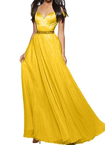 Ausschnitt Promkleider Gelb Kleider Damen Charmant Attraktive Abschlussballkleider Dunkel Jugendweihe Abendkleider V 6wtRX