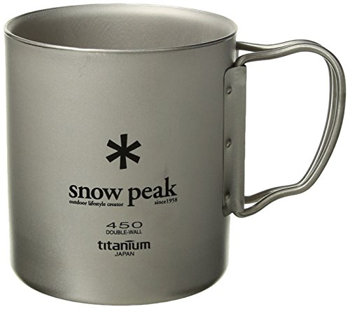 (Snow Peak Double Wall 450 Cup One Size)