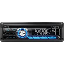 Clarion CZ305 Built-in Bluetooth aptX In-Dash iPod/iPhone/Android CD MP3 AM FM USB AUX Input EQ Car Stereo Player Pandora Control iHeart Radio compatibility Receiver (Certified Refurbished)
