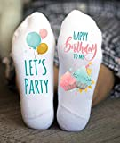 Happy Birthday Socks Women's Let's Party Funny Gifts Teenager