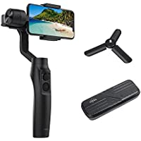 Dazzne Moza Mini-MI 3-Axis Gimbal Stabilizer Smartphone Wireless Phone Charging iPhone X 8 7 Plus 6 Plus Samsung Switch Standard/Vertical Shooting Auto Panoramas, Time-Lapse & Tracking