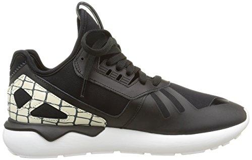 Femme Black Black adidas Basses Core Core White Runner Noir Baskets Tubular q1O7H