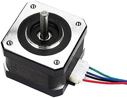 Leslaur Aibecy 3D Printer Parts 42-40 Moteur pas /à pas /à 2 phases de 1,8 degr/és dangle d/étape de 0,4NM /à 0,4NM pour limprimante 3D Creality CR-10 CR-10S Ender 3 17HS4401