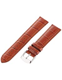 Hadley-Roma Men's MSM898RR-200 20mm Tan Alligator Grain Leather Watch Strap