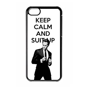 How I Met Your Mother Theme New Fashion Anti-slip Hard Case Cover for iPhone 5C _Black 30704