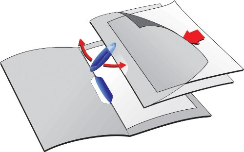 Black Durable A4 Swingclip Folder Polypropylene Capacity 30 Sheets Pack of 25