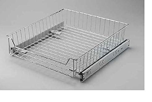 Drahtkorb-Aufbewahrungssystem Für Küchenschrank, Ausziehbar, Sanft