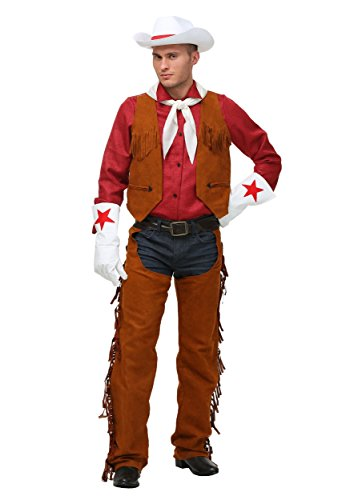 Plus Size Rodeo Cowboy Costume