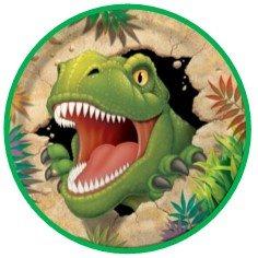 24 Adornos Para Tartas De Dibujos Animados Con Diseño De Dinosaurios