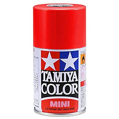 Spray Lacquer TS-49 Bright Red - 100ml Spray Can 85049: Toys & Games