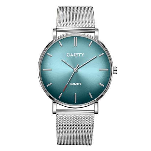 Sodoop - Mens Watches, Fashion Casual Simple Quartz Analog Watch Designer Business Classic Dress Wrist Watch with Net Strap Men's Watch