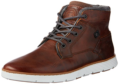 Wild Rhino Men Napier Trainers Shoes Grey (RUST)