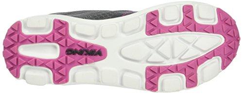 Grau Mixte Grey Viking Gris Dark 9109 Maverick Pink Mid Baskets Enfant Basses xxq0S7a1